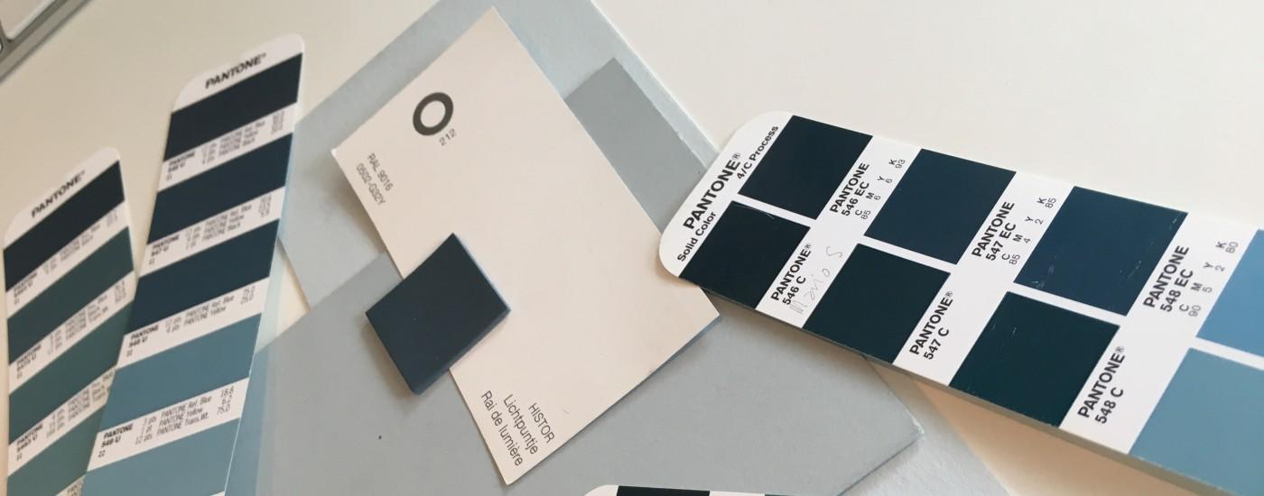 Pantone kleuren bij Monika Sas Interieur
